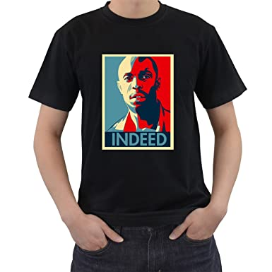 Amazon.com: The Wire Omar Indeed T-Shirt Short Sleeve S M L XL 2XL ...