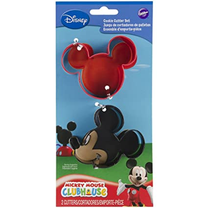 Amazon Com Wilton Mickey Mouse Cookie Cutter Set Disney Cookie