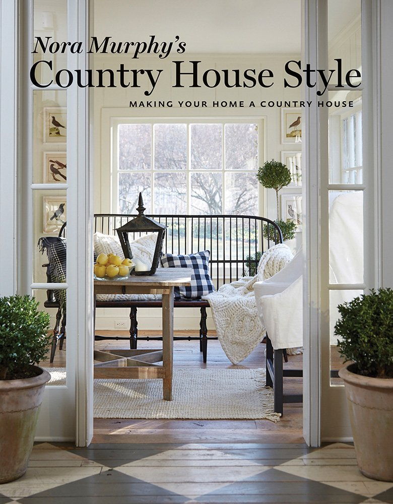 Nora Murphy book cover. Country House Style: Making Your Home a Country House.
