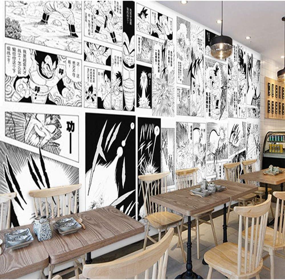 Ljiei One Piece Manga Black And White Anime Restaurant Bedroom Dorm 3d Wallpaper Wallpapers Amazon Co Uk Diy Tools