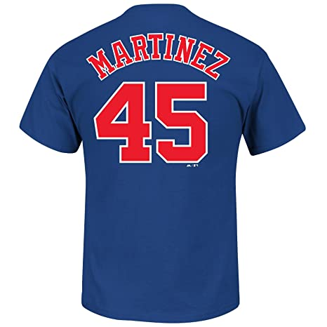 new concept 49a27 01e59 Montreal Expos Pedro Martinez Cooperstown Player Name & Number T-Shirt