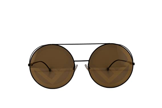 85f3d0788bf5 Image Unavailable. Image not available for. Color  Fendi FF0285 S Sunglasses  Brown ...