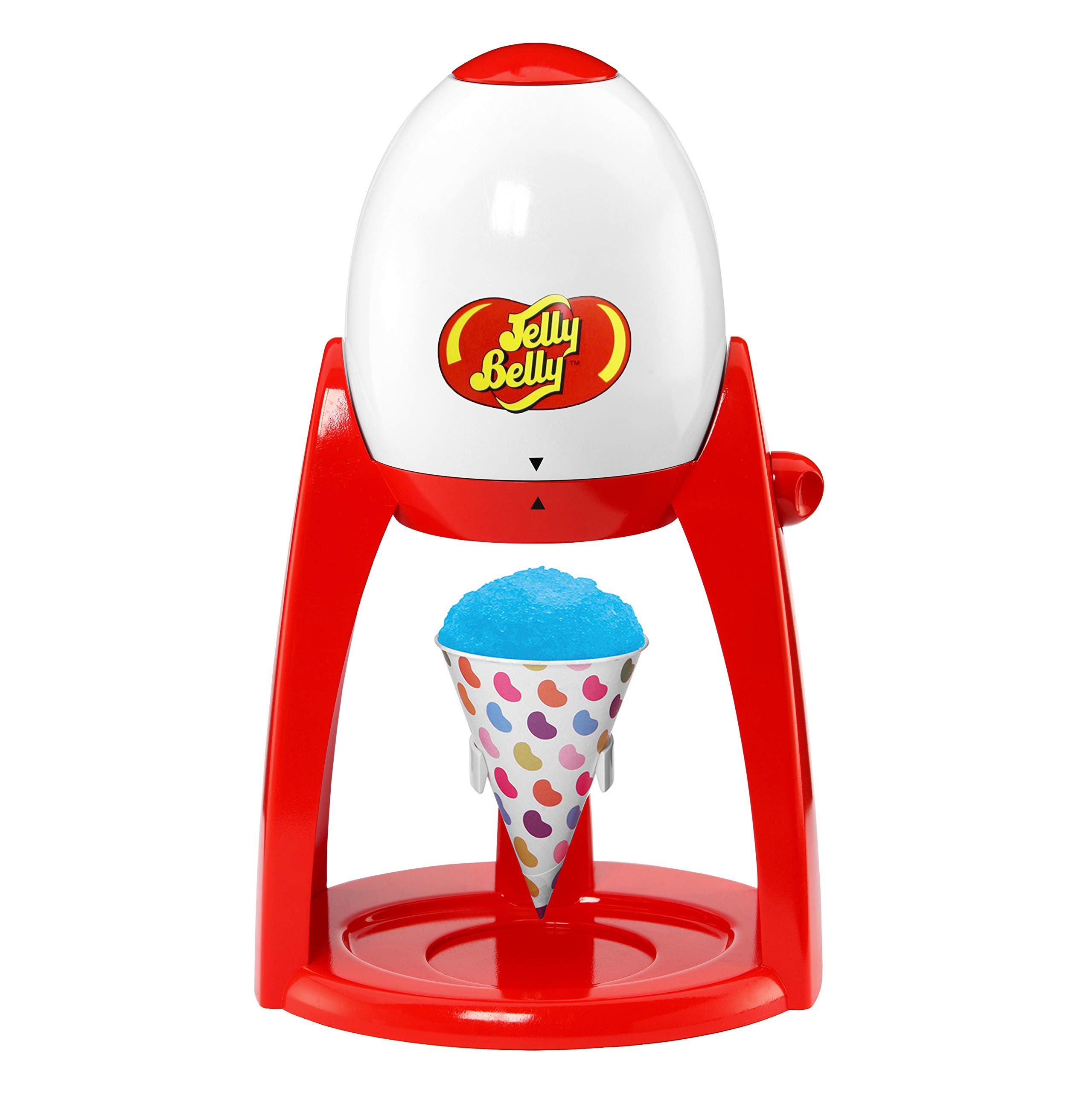 Jelly Belly JB15335 Easy to Use Electric Snow Cone Maker Fast Fun and Easy Icy Treat, Red by West Bend