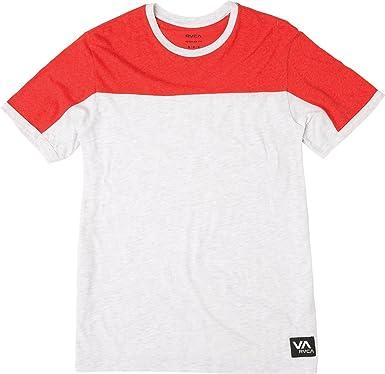 RVCA Hombre M909PRRO Manga Corta Camiseta: Amazon.es: Ropa y accesorios