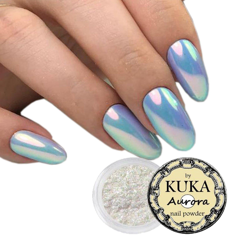 KUKA Aurora Chrome Nail Polish Powder
