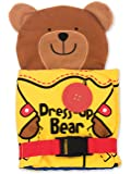 Melissa & Doug Soft Activity Baby Book - Dress Up Bear