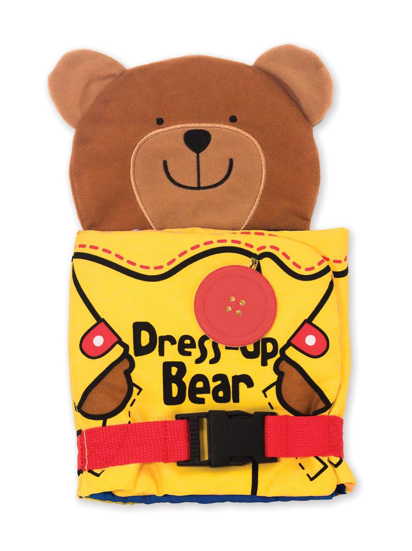 Melissa & Doug Soft Activity Baby Book - Dress Up Bear 9206