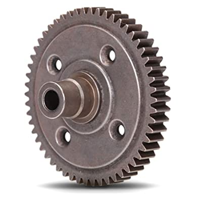 Traxxas TRA3956X Spur Gear, Steel, 54-Tooth (0.8 Metric Pitch, Compatible with 32-Pitch) (for Center Differential): Toys & Games