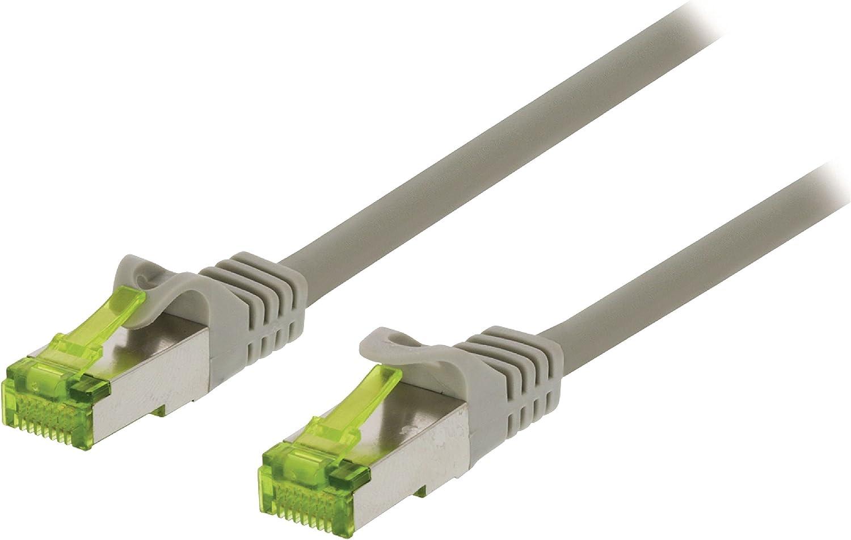 S-STP S//FTP Valueline vlcp85420e100/10/m Network Cable RJ45/RJ-45, Grey 10/m, CAT7//–/CAT7/S//FTP Network Cable Grey S-STP