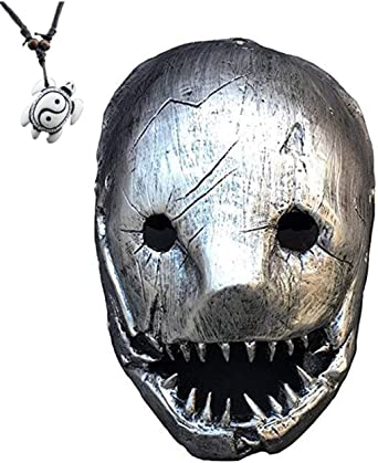 Halloween Plastic Horrible Full Scary Face Mask Face Cover Party Cosplay Dress