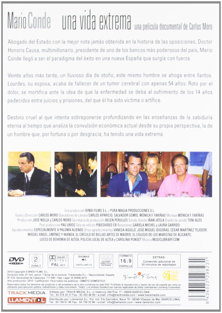 Una vida extrema: Mario Conde [DVD]: Amazon.es: Carlos Moro: Cine y Series TV