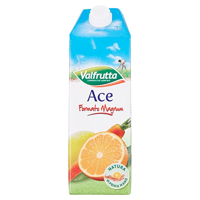 7 opinioni per Valfrutta- Ace Formato Magnum, Bevanda Analcolica A Base Di Succo Di Arancia,