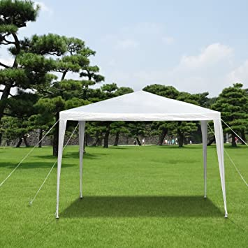 IKAYAA 3M*3M Garden Canopy Gazebo Outdoor Party Wedding C&ing Tent Waterproof & IKAYAA 3M*3M Garden Canopy Gazebo Outdoor Party Wedding Camping ...