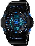 Kid LED Watch Child Boy Girl Sport Multi Function Digital Waterproof Electronic Quartz Watches
