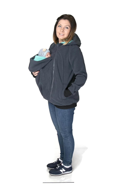 Porte-bébé NimNik avec Siège de Hanche - Porte bébé Ergonomique Ventral ou  Dorsal, 91f1a612ff4