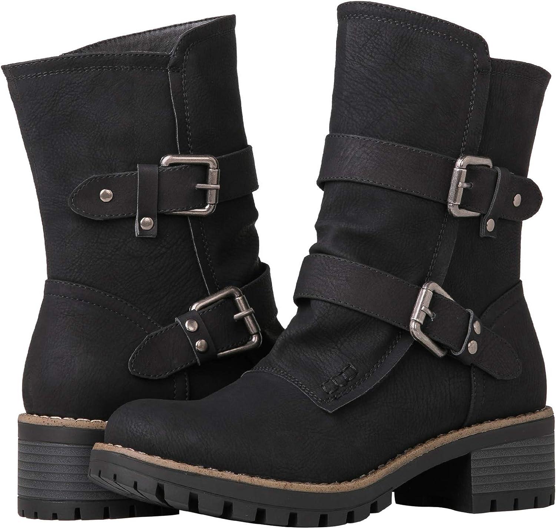 GLOBALWIN Womens Fashion Boots