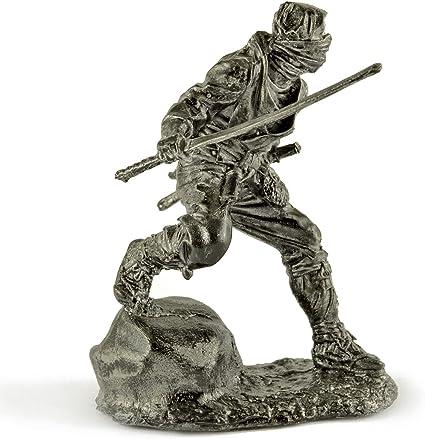 Soldadito de plomo. Figuras de estaño. Ninja. De metal ...