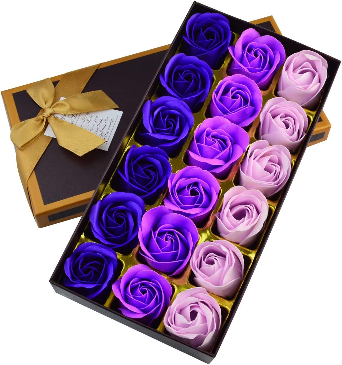 Details about  /Day Gifts Artificial Flower Soap Cartoon Bouquet Scented Bath Soap Rose