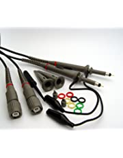 Hantek 2X 200MHz Oscilloscope Switchable Clip Probes with Accessory Kit