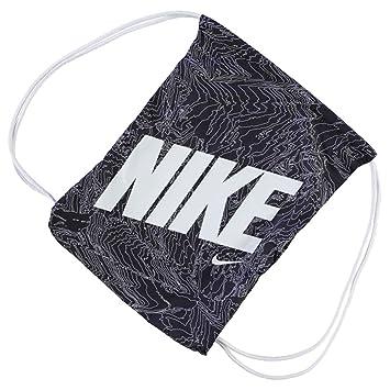 082d979d1f8b Mens Ladies Kids Unisex Genuine Nike Graphic Gym Sack Pack Bag Accessories  (Black White1