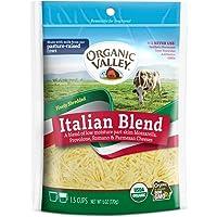 Organic Valley, Organic Finely Shredded Italian Cheese Blend - 6 oz Bag
