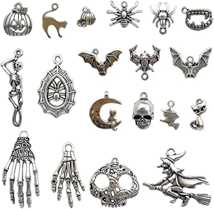 Lot 15 Tibetan Silver Motorcycle Charms for Earrings Cell Phone Crafts Bracelet