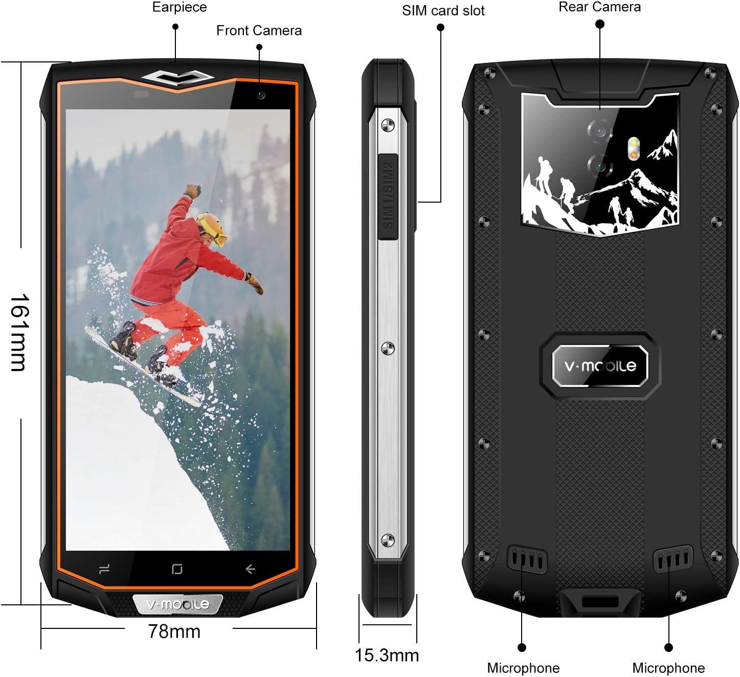 Impermeable Smartphone IP 67, 32 GB ROM 3 GB RAM 5.5