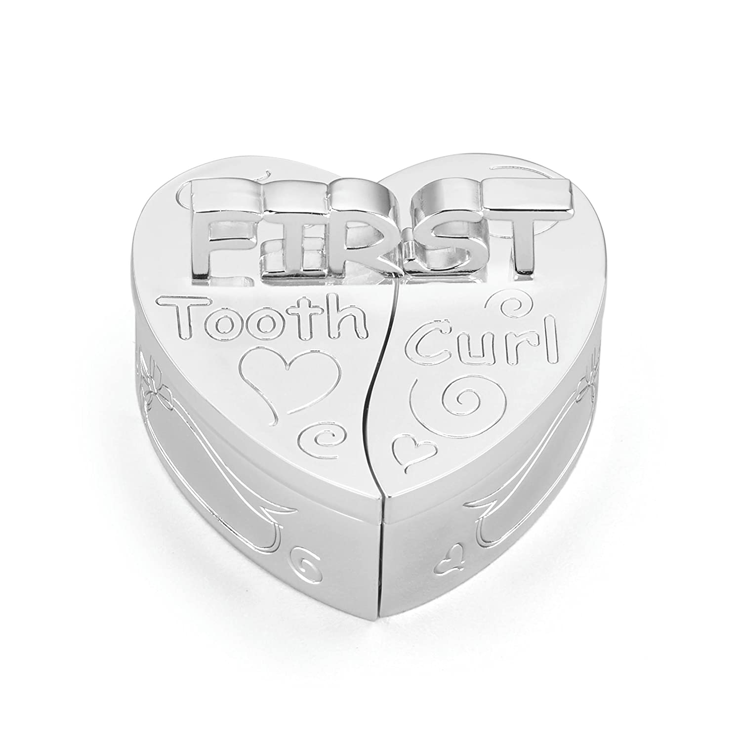 Lenox First Tooth and Curl Silver