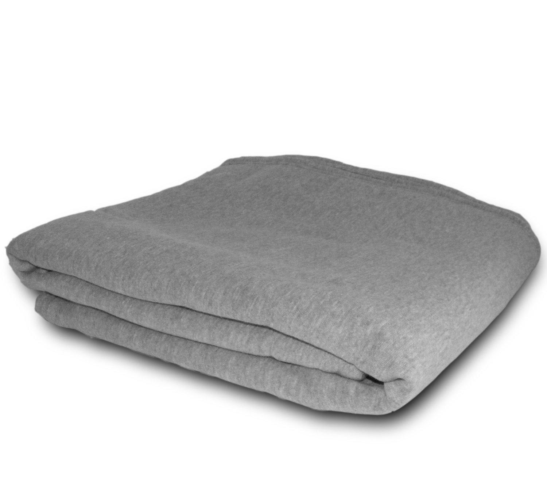 CozyCoverz Oversized Sweatshirt Blanket 54'' x 84'' (Heather Grey)