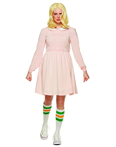 9130163360 Spirit Halloween Adult Eleven Stranger Things Replica Costume | Officially  Licensed