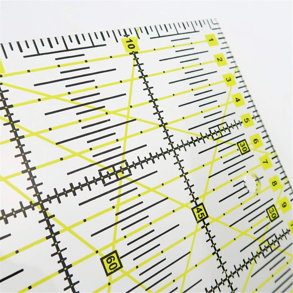 Sharplace Righello Quadrata Patchwork per Quilting