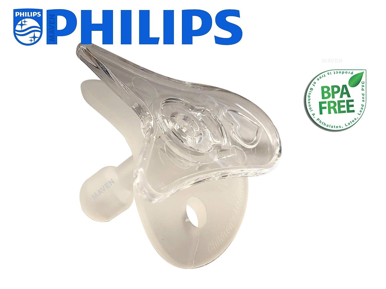 Wee Thumbie - Philips Clear Preemie Pacifier, Gestational Age Less Than 30 Weeks, Hospital Binky