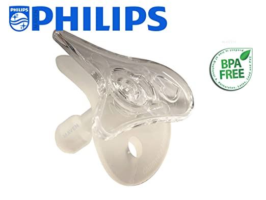 Wee Thumbie - Philips Clear Preemie Pacifier, Gestational Age Less Than 30 Weeks, Hospital Binky