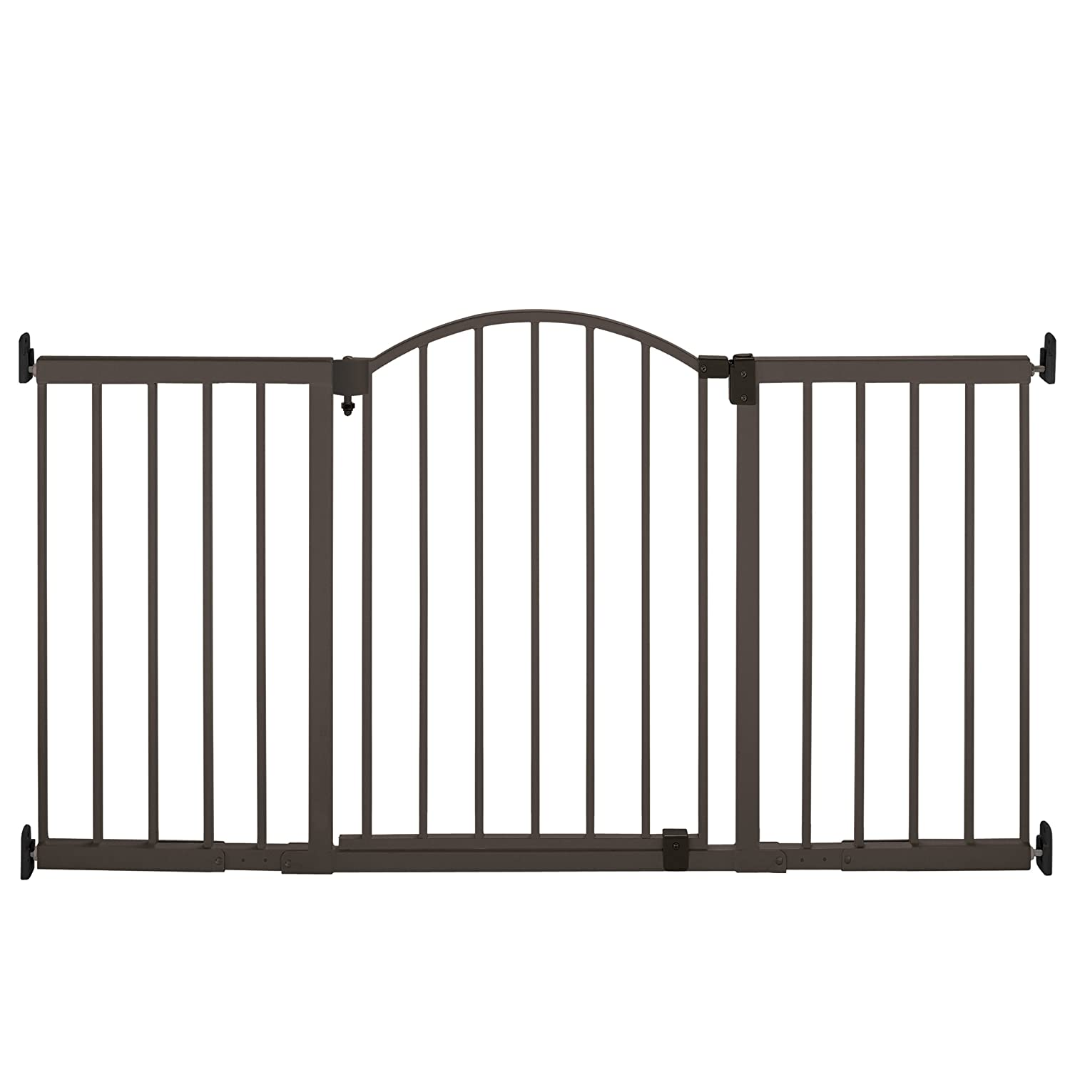 Summer Infant Metal Expansion Gate, 6 Foot Wide Extra Tall Walk-Thru 27270