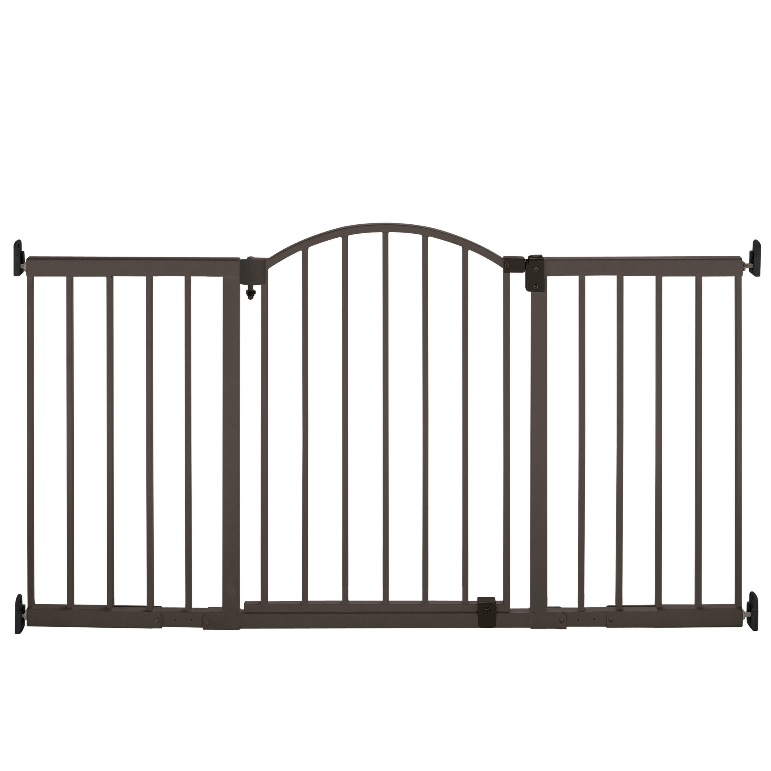 Summer Metal Expansion Gate, 6 Foot Wide Extra Tall Walk-Thru by Summer Infant