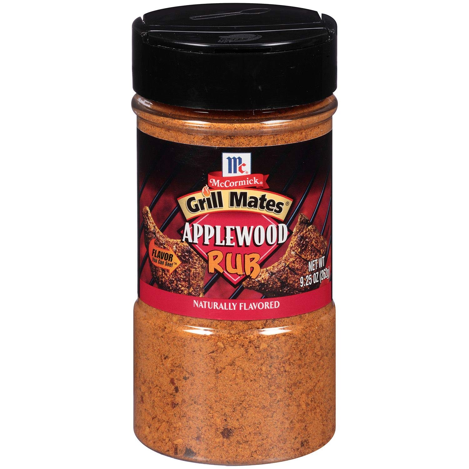 McCormick Grill Mates Applewood Rub - 9.25 oz. (Pack of 6)