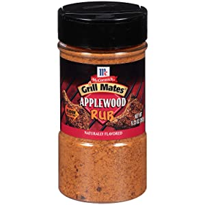 3 X 9.25 Oz Grill Mates Applewood Rub by McCormick