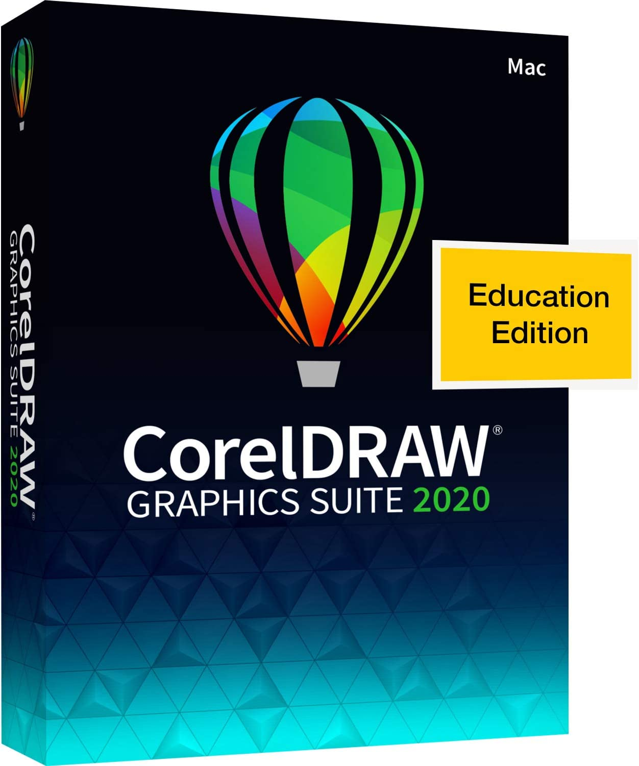 CorelDRAW Graphics Suite 2020 | Graphic Design, Photo, and Vector Illustration Software | Education Edition [Mac Key Card]