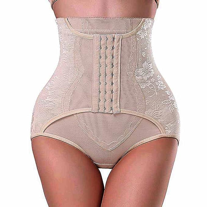 659d2c930a Chumian Damen Bauch-Weg-Effekt Miederhose with Haken Butt Lifter Panty  Seamless Enhancer Control Miederslip Unterwäsche Shapewear  Amazon.de   Bekleidung