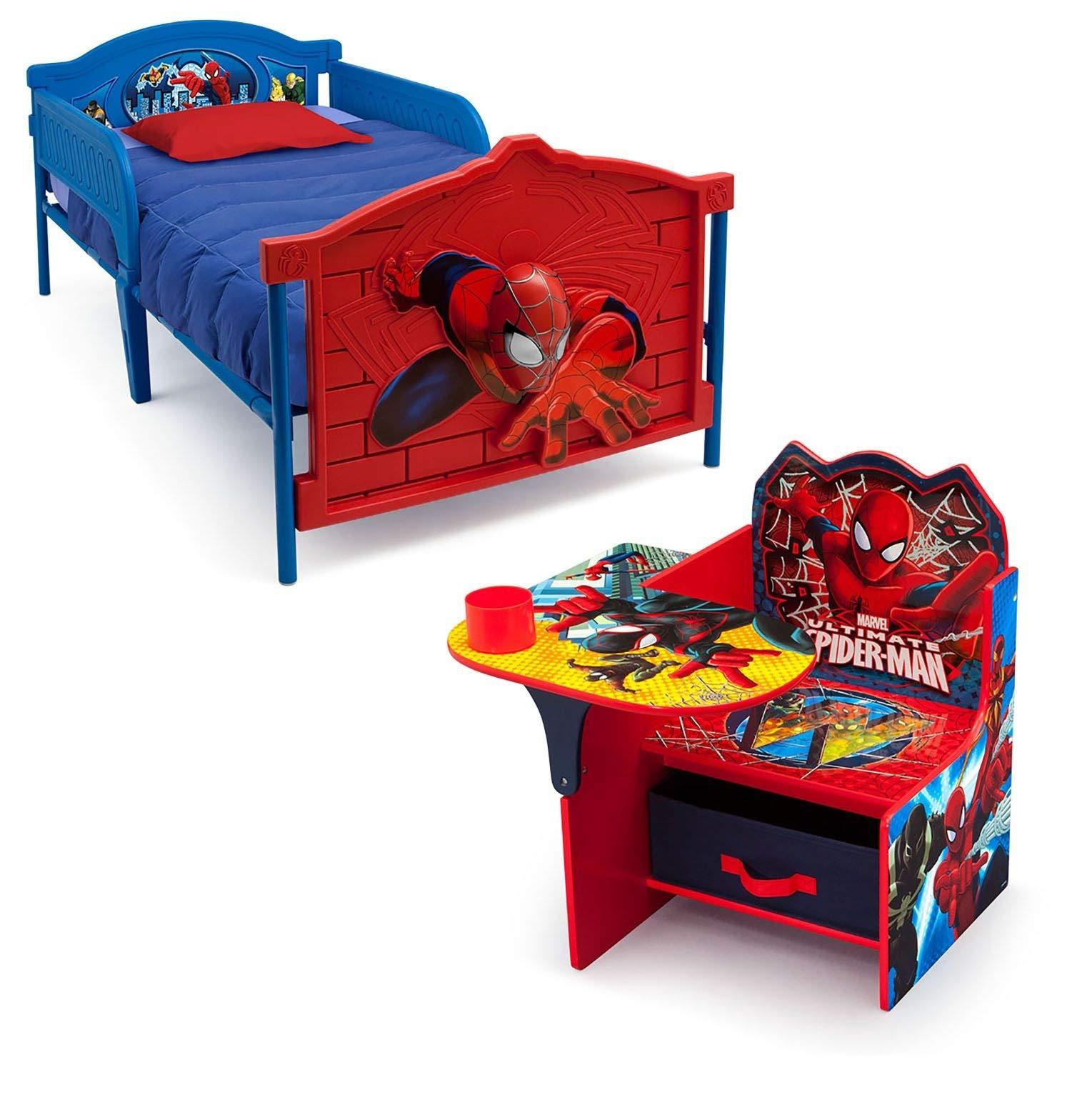 Delta Children Spider Man 2 Piece Twin Bedroom Set
