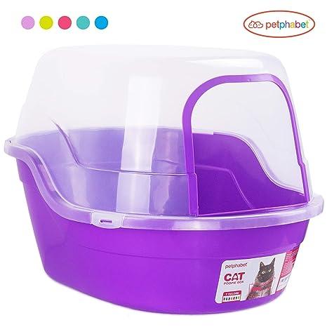 petphabet Caja de Arena para Gato Casa de Baño XXL Múltiples Colores Disponibles