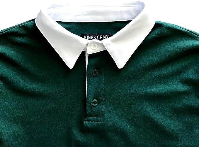 Jofemuho Men Button Down Long Sleeve Slim Checkered Fall Winter Dress Shirts