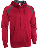 Russell Athletic Men's Technical Performance Fleece 1/4 Zip Fashion Hood Jacket