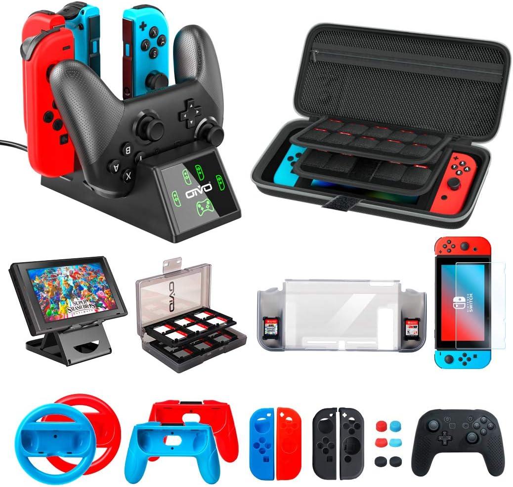 OIVO Kit de Accesorios para Nintendo Switch, 12 en 1 Pack Accesorios para Consola Nintendo Switch: Amazon.es: Electrónica