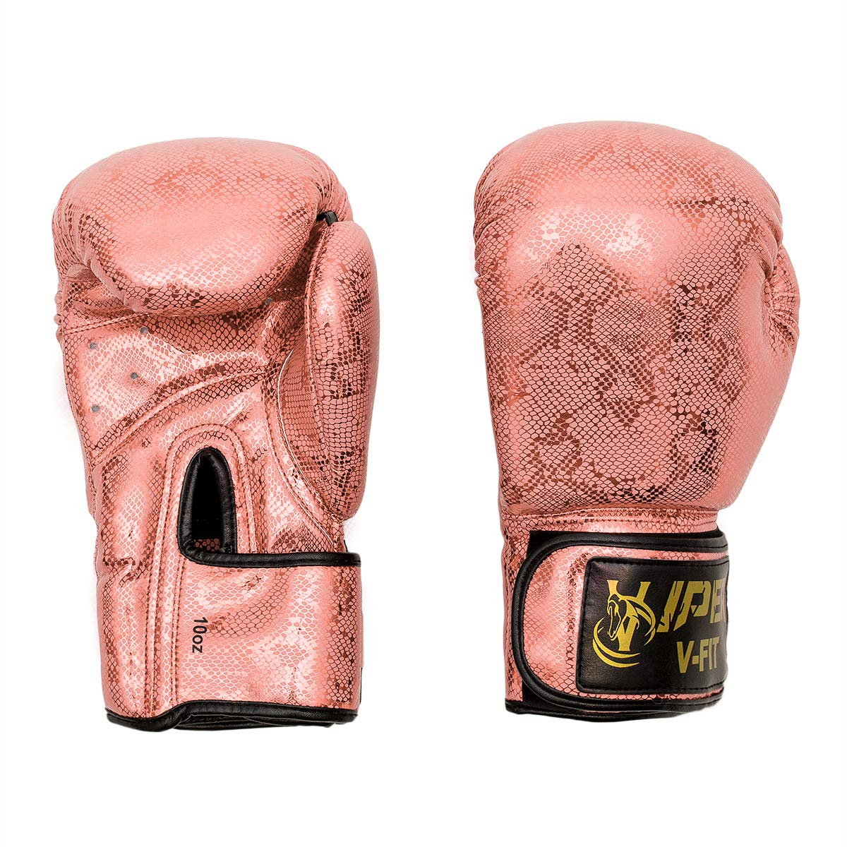 Kids Boxing Gloves 6oz Punch Bag Muay Thai Martial Arts Pink Rex Leather Punch