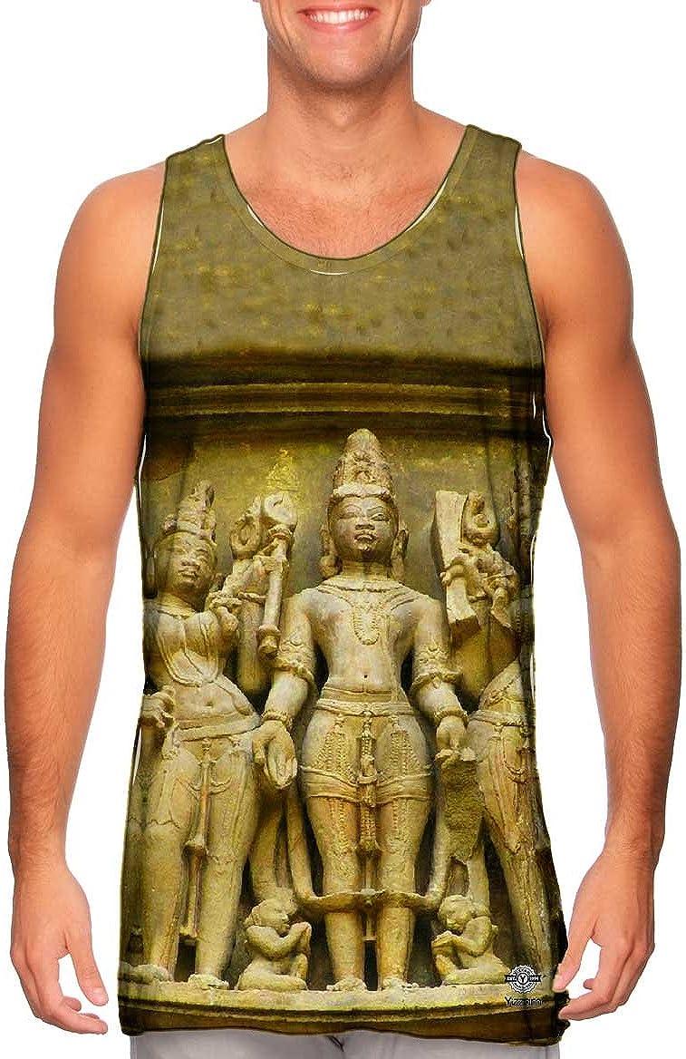 Yizzam Tshirt Mens Tank Top Santiago Rebull Lord Shiva