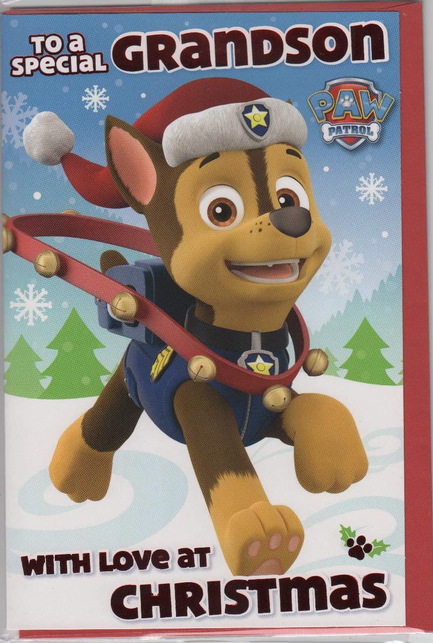 Paw Patrol Grandson Christmas Card Danilo Christmas Cards
