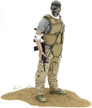 Baellar 12 Soldados Estadounidenses Fuerzas Especiales Figura de Acción Set-Soldado herido: Amazon.es: Juguetes y juegos