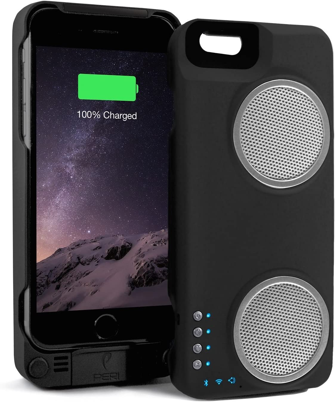 PERI Duo for iPhone 10/10s - Black (Not for 10 Plus Models)