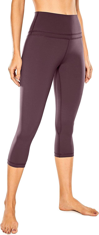 Women Running Fitness Yoga Pantalon stretch serré Cropped Cotton Cropped Leggings L